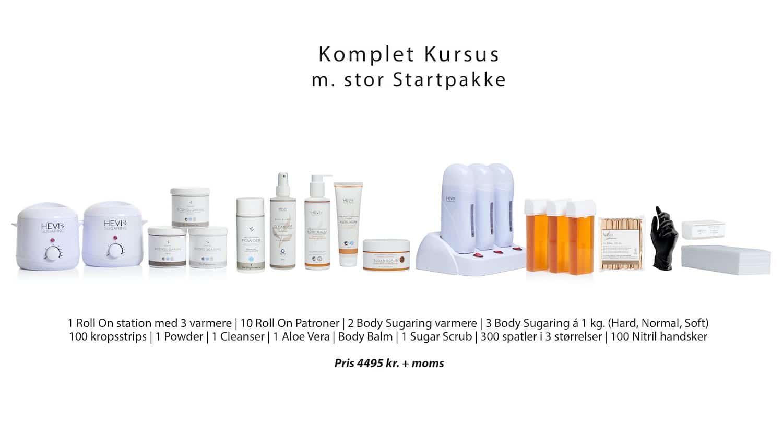 Komplet Kursus M. Startpakke