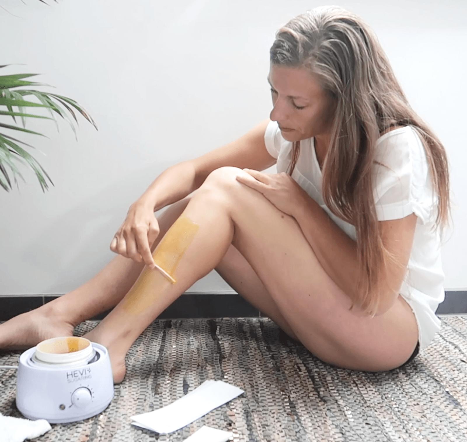 hårfrie ben med sugaring