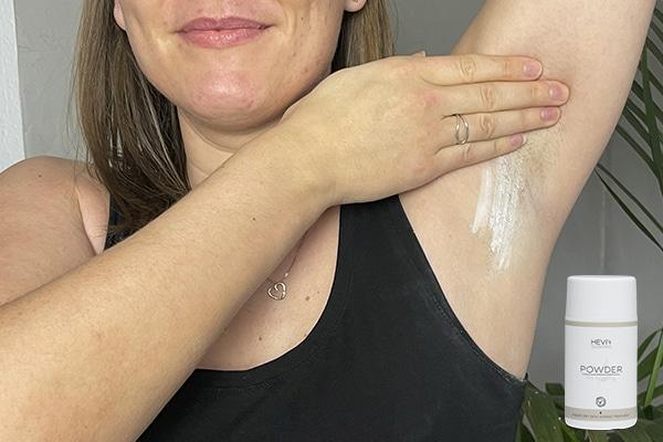 hårfjerning armhule powder