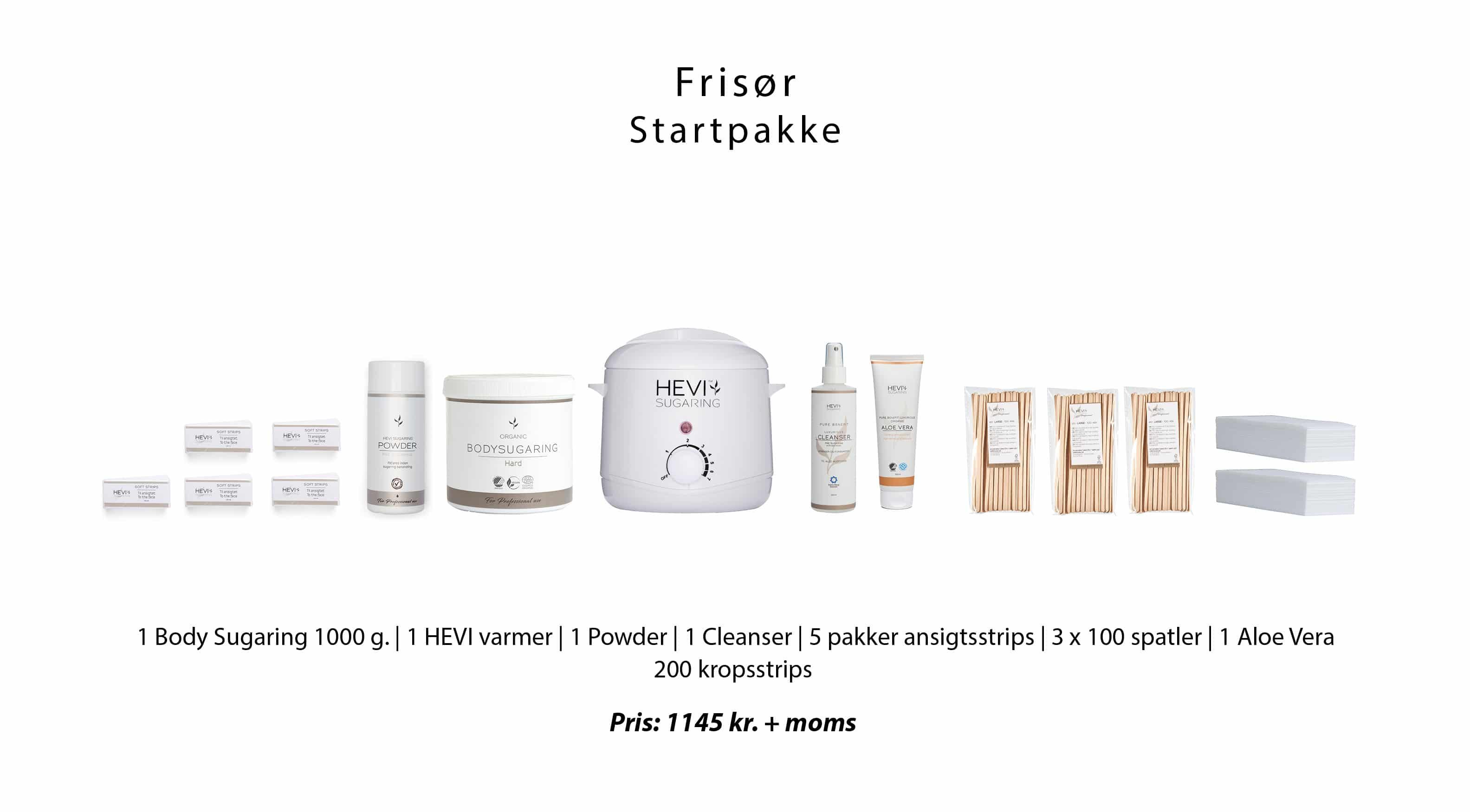 Frisør Startpakke Inkl. Online Kursus